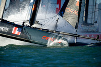 America's Cup sailing boats Stock photography