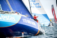 2017-18 Volvo Ocean Race Newport Leg 9 Start